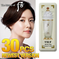 The history of Whoo All In One Essence Lotion 30pcs Moisture Anti-Aging Newest