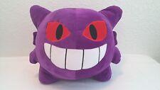 Large Pokemon Plush 10 Inch Stuffed Animal Gengar Fan Favorite Purple Cuddle Toy