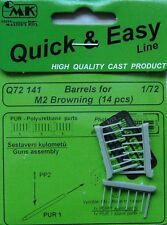 CMK 1/72 Barrels for M2 Browning x 14 # Q72141