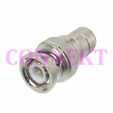 1pce BNC male plug crimp RG8 LMR400 RG213 RG165 RF connector