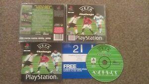UEFA CHALLENGE ORIGINAL BLACK LABEL  SONY PLAYSTATION PS1 PS2 PAL