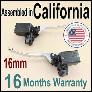 Honda Nighthawk V4 V65 VT VF 500 650 700 750 800 Brake & Clutch Master Cylinder
