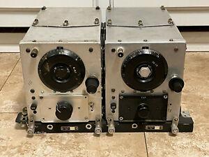2 Vintage US Military ARC 5 radio WE BC455B Colonial BC946B works* & rack mount