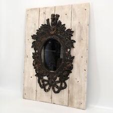 Lisbeth Dahl Deko Wandspiegel Antik Spiegel Holzplanken Vintage Barock Landhaus