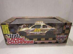 RACING CHAMPIONS 50TH ANNIV NASCAR GOLD DIECAST STOCK CAR #40 RICK FULLER S1