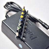 Universal 8 Punta Cabezal Adaptador de Cargador para Ordenador Portátil AC DC