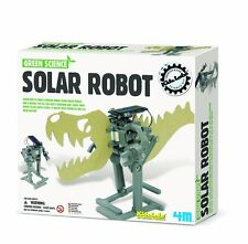 Green Science Solar Robot, robot building kit by 4M Kidzlab