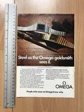 Omega Constellation 2000 / Philips 1976 Advertisement Pub Ad Werbung