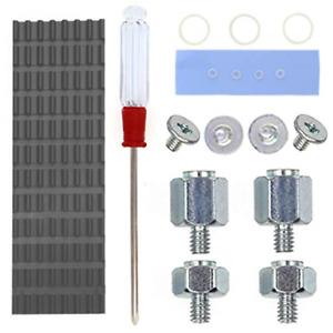 QTEATAK PCIe NVMe M.2 2280 SSD Heatsinks Cooler & Mounting Screws Screwdriver