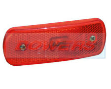 SIM 3157 12V REFLECTIVE RED LED REAR MARKER POSITION LIGHT/LAMP SURFACE MOUNT