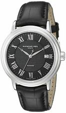 Raymond Weil Men's Maestro Automatic Black Dial Men's Watch 2837-STC-00208 NEW