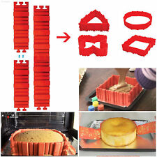 3165 4 PCS SILICONE CAKE MOLD - Design Your Cakes Any Shape HOT