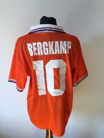 Maglia calcio LOTTO Olanda bergkamp 10# football shirt trikot vintage 1994