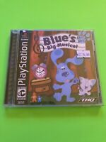 🔥 PS1 PlayStation 1 PSX GAME 💯 COMPLETE WORKING GAME 🔥 BLUES BIG MUSICAL