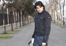 GIACCA MOTO SCOOTER UOMO SCOTLAND MOD. EXAGON con PROTEZIONI ANTIPIOGGIA FREDDO