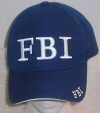 FBI  hook and loop adjustable baseball hat