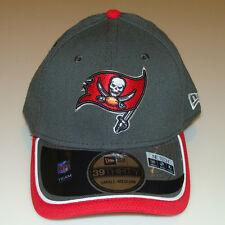 New Era Hat Cap NFL Football Tampa Bay Buccaneers Reverse 39THIRTY L/XL Flex Fit