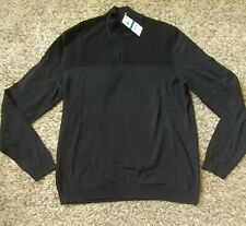 Mens Alfani Sweater Black Large