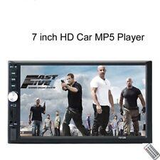"7"" HD Car MP5 Player Stereo Radio BT Mirror USB AUX FM Audio 2 DIN With Camera"