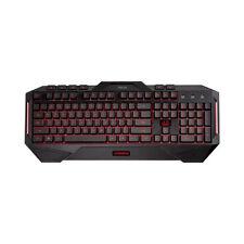 ASUS Cerberus Gaming Keyboard Macro Keys 2 Colour LED Backlighting 19 Anti