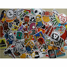 100pcs lot Skateboard Vinyl Sticker Skate Graffiti Laptop Luggage Car Bomb Decal