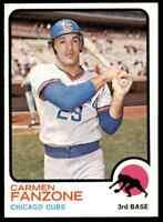 1973 TOPPS CARMEN FANZONE RC #139 NM-MT HI-GRADE SET BREAK BLR4N1