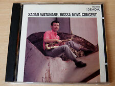 Sadao Watanabe/Bossa Nova Concert/1989 CD Album