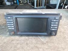 BMW 5 SERIES RADIO/ CD PLAYER/ MULTI INFORMATION DISPLAY, E39, 05/96-10/03