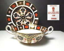 Royal Crown Derby OLD IMARI Cream Soup Bowl & Saucer(s), 1st Quality, MINT !!