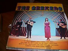 THE SEEKERS SELF TITLED-LP-VG+-PICKWICK 33-AUSTRALIA FOLK POP-IF I HAD A HAMMER