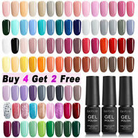 LILYCUTE 146 Colors 7ml Nail Art Gel Color Polish Soak Off UV LED Gel Varnish