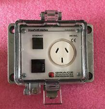 Grace GracePort Interface P-R2-K3RA3 N12/4 250 VAC Ethernet Outlet