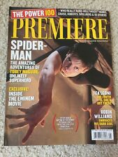 PREMIERE Movie Magazine (May 2002) Tobey Maguire Robin Williams VF Cond