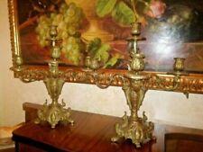 Candelabri e lanterne d'antiquariato barocchi originale