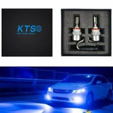 2x NEW H8 H9 H11 H16 8000K Ice Blue  LED Headlight Bulbs Kit High Low Beam US