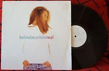 BELINDA CARLISLE *** Real *** VERY SCARCE & RARE 1993 UK LP