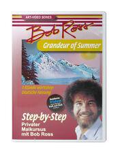 Bob Ross 1 Stunde Malkurs Workshop - Grandeur of Summer DVD