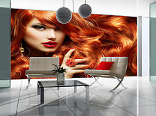 Long Curly Red Hair Wall Mural Photo Wallpaper GIANT DECOR Paper Poster