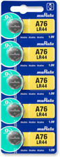 Sony LR44 is now Murata LR44 (A76) 1.5V Alkaline Button Cell Battery (5 Pack)
