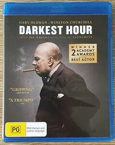 Darkest Hour - Winston Churchill Movie (Blu-ray, 2017) 🇦🇺 Region B