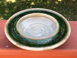 Lee Rosen For Design Technics Ceramic & Resin Low Round Bowl - Rare