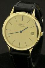 Piaget 18K gold elegant high fashion 34mm automatic men's watch w/ date