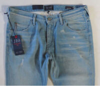 Armani Men Jeans 33 x 34 J10 AJ Extra Slim Distressed Brand New with Tags