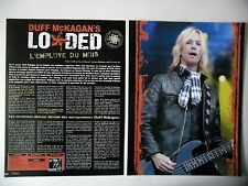 COUPURE DE PRESSE-CLIPPING :  LOADED / Duff McKagan [4pages] 04/2011 Interview