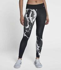 Nike Epic Lux Print Running Tights - Size Small - AQ0401-011 - Black