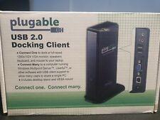 Plugable USB 2.0 Docking Client Model DC-125 New