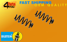 2x BILSTEIN AUDI A3 8P7 SEAT LEON 1P1  COIL SPRINGS REAR SUSPENSION  HQ