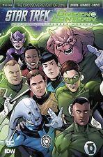 Star Trek Green Lantern V2 #1 IDW DC Comics 2016 Angel Hernandez Variant Cover