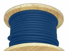 250' 1/0 AWG Welding Cable Blue Outdoor Adjustable Wire 600V