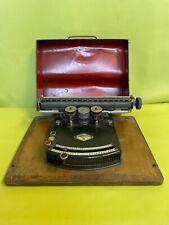 antike Schreibmaschine Gundka Modell III um 1920